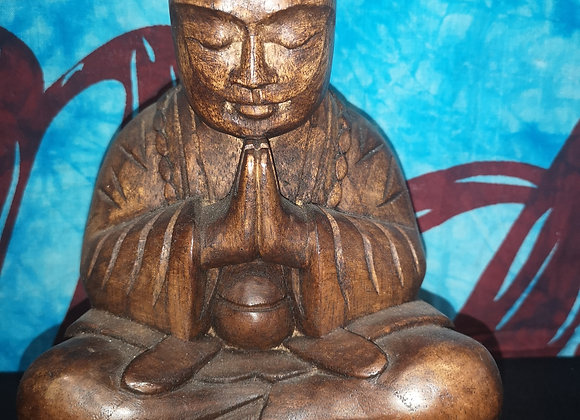 Yogi en bois de suare