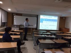Prof. Bae's seminar