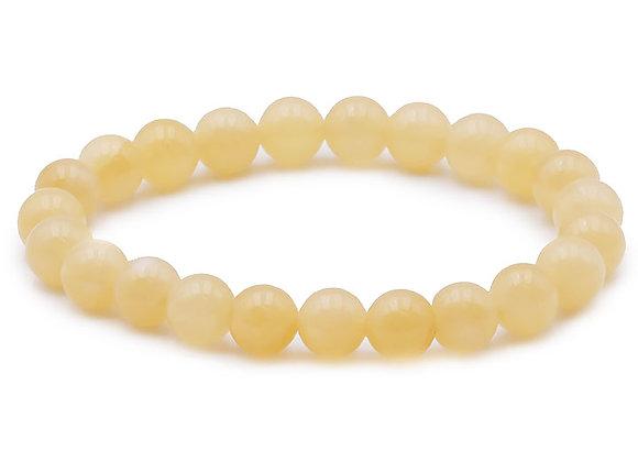 Calcite Orange AB Perles 8mm