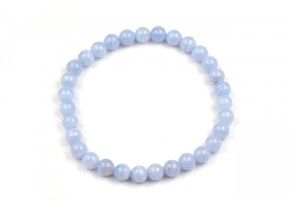 Agate Lace Blue 4mm