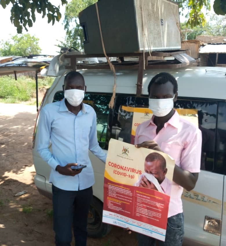 RfP Covid-19 Awareness in Adjumani refugee camp funded by our 2.6 Challenge during lockdown
