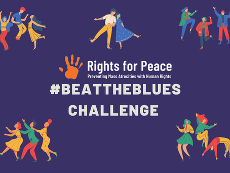 #BeatTheBlues with Rights for Peace!