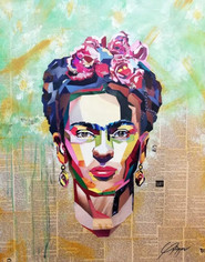 Frida 70x90cm