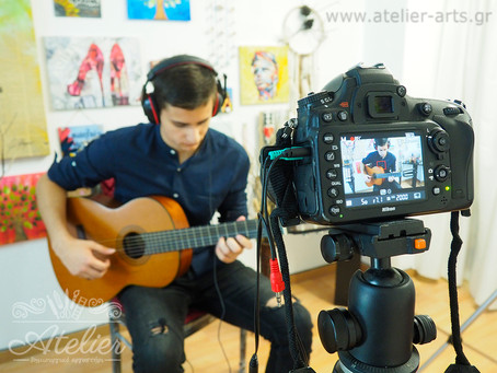 """""""Κιθάρα & Μουσική"""", το πρώτο βιντεομάθημα..."""