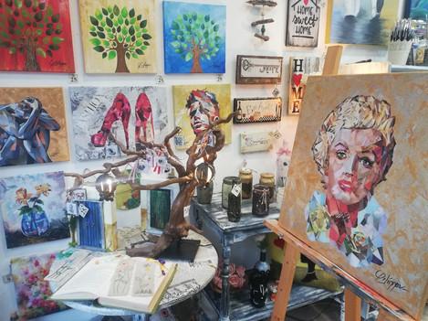 Βιτρίνα Atelier Arts