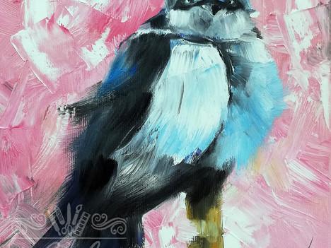 """Από τη σειρά """"Πουλιά"""""""