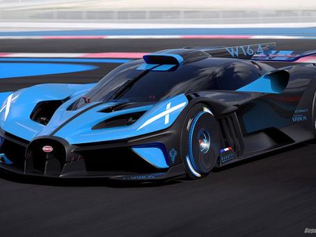 The Bugatti Bolide Concept