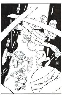 TMNT #62 Variant cover