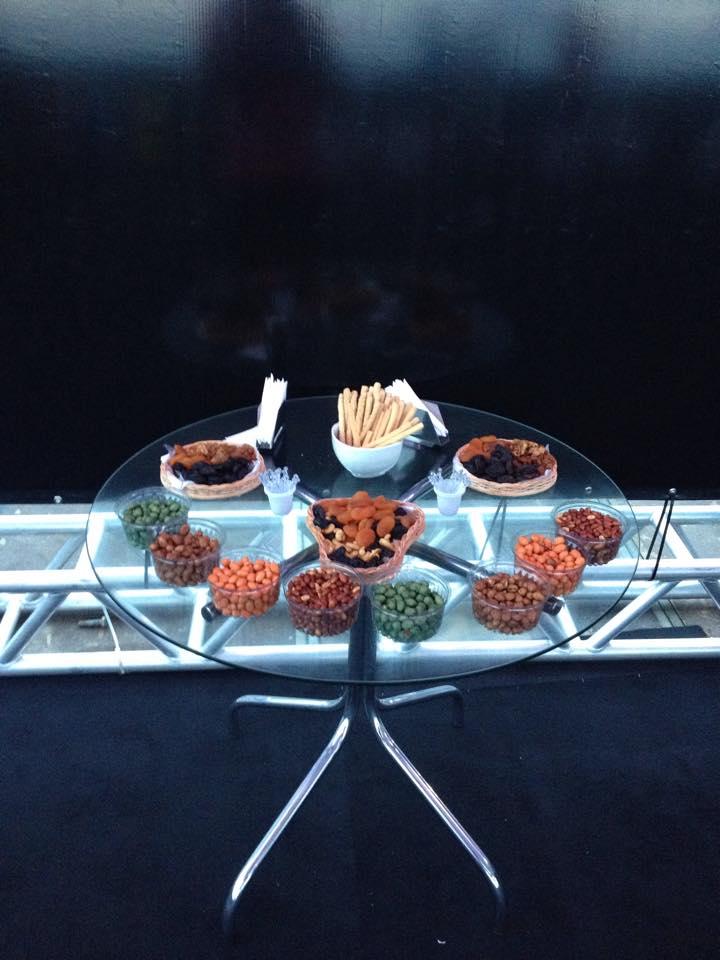 mesa de petiscos