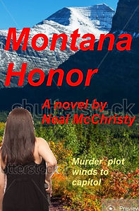 """From """"Montana Honor""""....Jasmine, a reporter, is talking to her editor, George.... """"Can Gibson go?"""" Anston asked. """"Hear from him?"""" The protective editor again. He wants Gibson to follow me into the governor's office? she thought. Geez. """"You still carrying?"""" he asked. So it was protective. The thigh holster with the Beretta Tomcat had been a regular part of her wardrobe lately, though no .32 caliber bullet was racked into the tip-up chamber at the moment, and it was securely on safety.  """"Yeah,"""" she sighed. The pistol had saved her life, but she hated the dresses that best concealed the pistol and holster from view. """"And Powell's following."""" """"I know he doesn't work here officially; but if Gibson isn't gonna be there, can you wait to go to Helena until McVey can go, too?""""  She looked at Anston with blue eyes now narrowing to a squint. """"George,"""" she said. """"I've taken every sort of defense class around here. Shit, I'm nearly a female Bruce Lee. I'm packing heat, too. . . ."""" Her next words ca"""