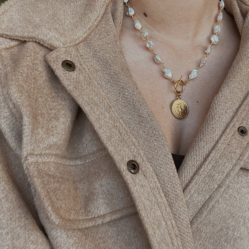 Cadenita de Perlas Blanca
