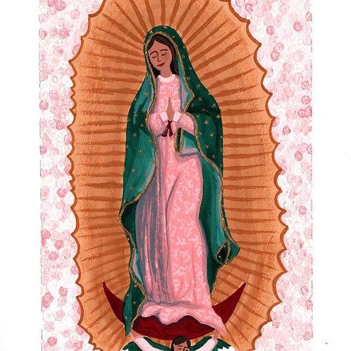 La Morenita card
