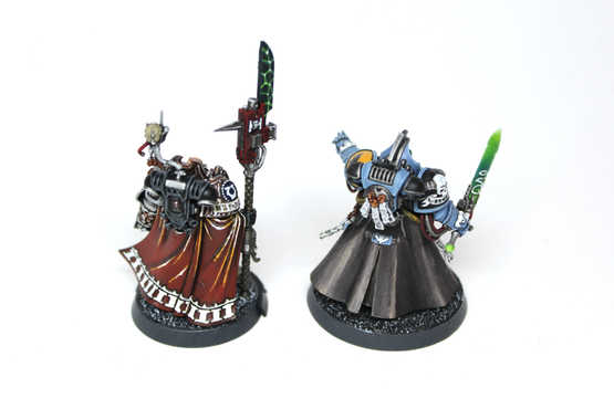 Watchmaster and Librarian, 40k Kill Team, Display Quality
