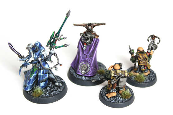 Blackstone Fortress Heroes, Extensive and Display Quality