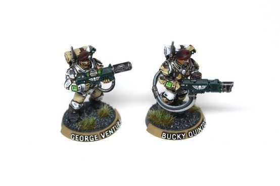 Astra Militarum Scions, 40k Kill Team, Display Quality
