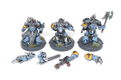 Space Wolves with magnetized modular weapons and shields, 40k Kill Team, Extensive Quality