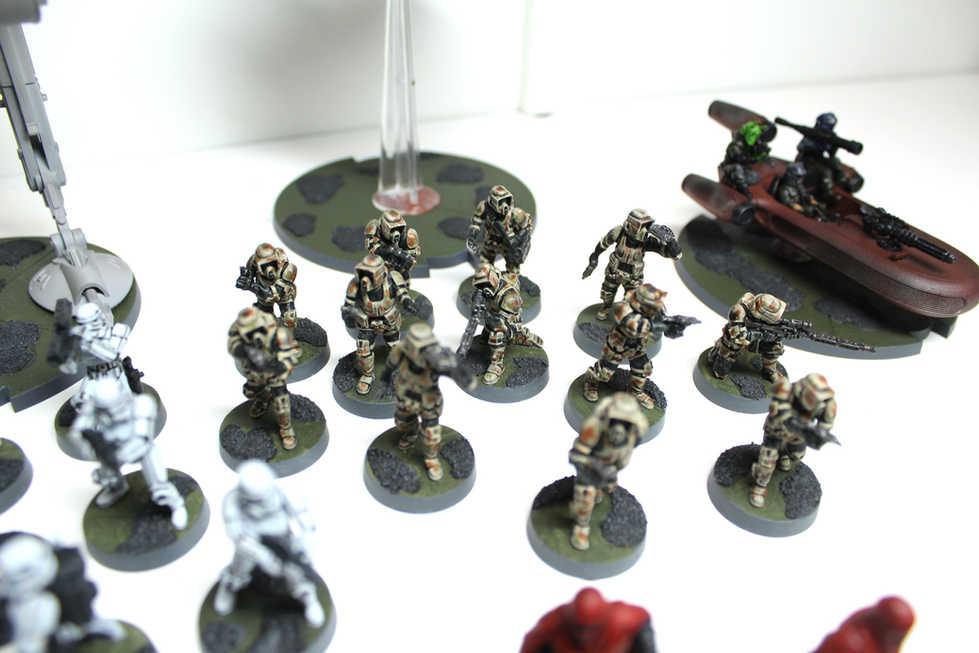 Star Wars Army, Tabletop Ready