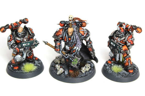 Blackstone Fortress Boss and Retinue, Extensive and Display Quality