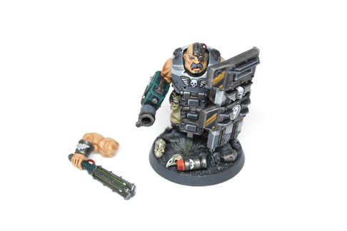 Bullgryn with magnetized weapons, Warhammer 40k, Display Quality