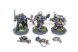 Deathwatch Marines with magnetized modular weapons and shields, 40k Kill Team, Extensive Quality