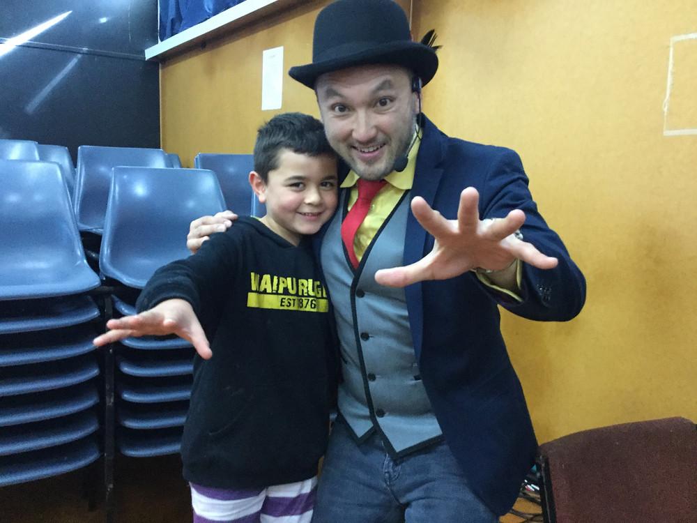 Jasiah and Uncle 'Felix Fantastic'