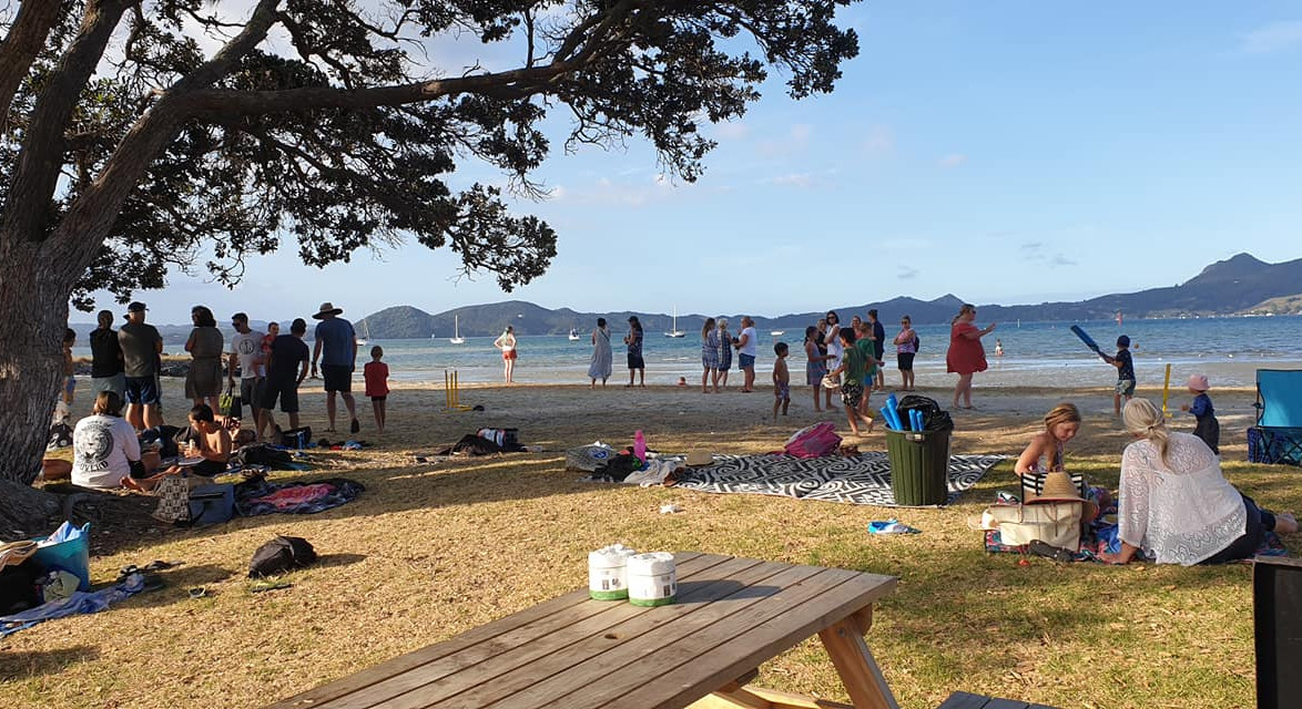 Fun in the Sun at our Whanau Beach Picnic