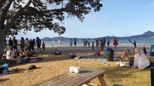 Fun in the Sun at our Whanau Beach Picnic