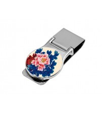 Money Clip Round (Includes black gift bo