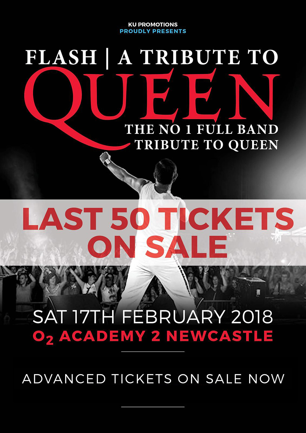 Flash Queen Tribute O2 Academy Newcastle