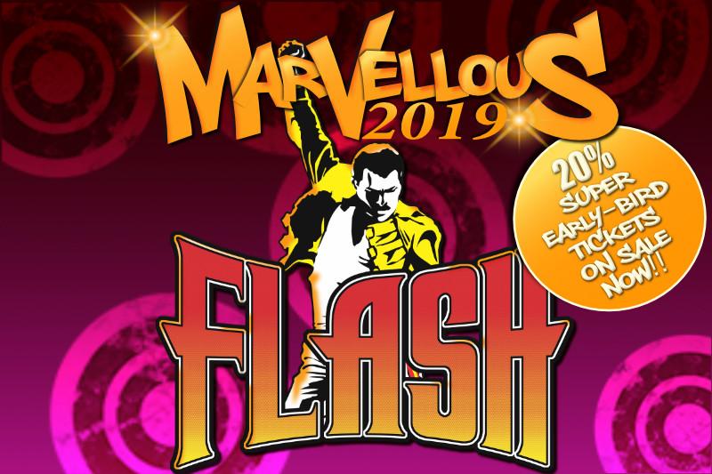 Flash Queen Tribute Marvellous Festival 2019
