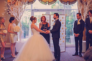 Queens landing wedding, cathy davis officiant, cathy davis and company, niagara-on-the-Lake weddings