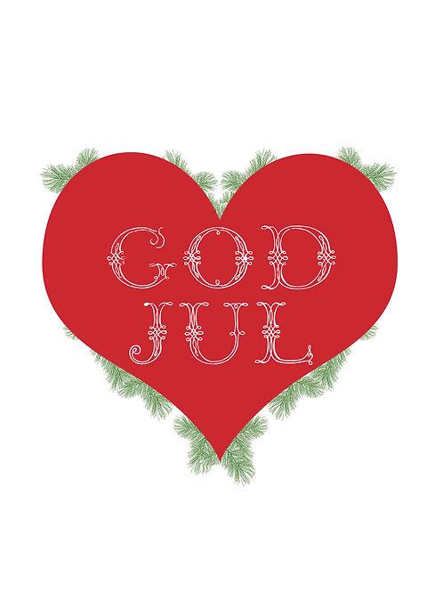 God Jul 8x10 print