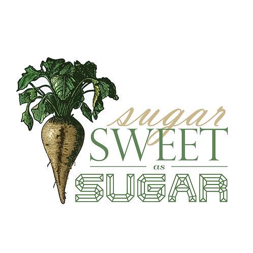 Sweet As Sugar Notecard