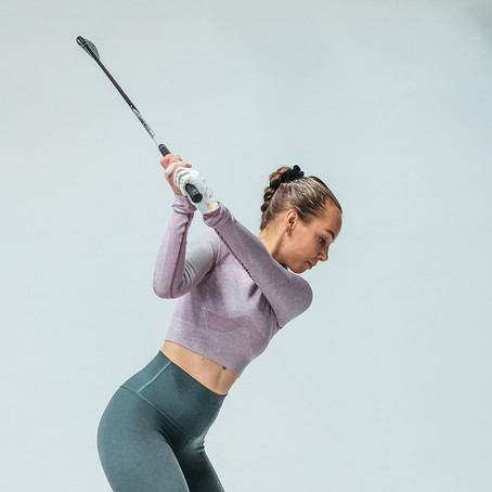 The most effective way to improve in golf is to improve the quality of the body playing it.