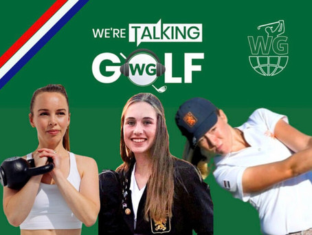 Podcast with Dutch National team golfers Noa van Beek & Anne-Sterre den Dunnen.