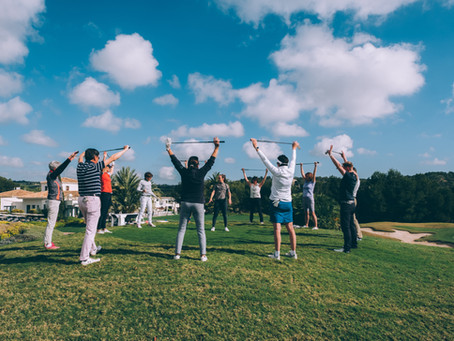 The warming up is the low hanging fruit for golfers.
