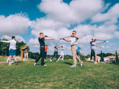 An opportunity for golfers to increase resilience.