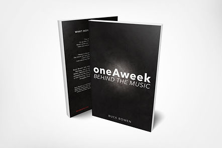 oneAweek - 5.5x8.5 Front Back Paperback
