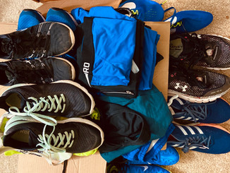 Giving Back: What to do with Old Running Gear