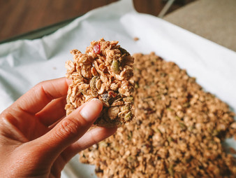 Make Your Own Natural Ingredient Protein Granola Bars