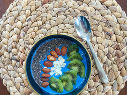 What Blue Spirulina Is Actually Doing In My Blue Smoothie Bowl