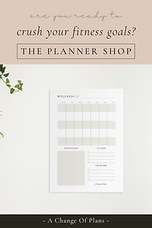 a change of plans etsy shop planner inserts