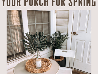 Stylish & Budget-Friendly Ways To Refresh Your Porch For Spring