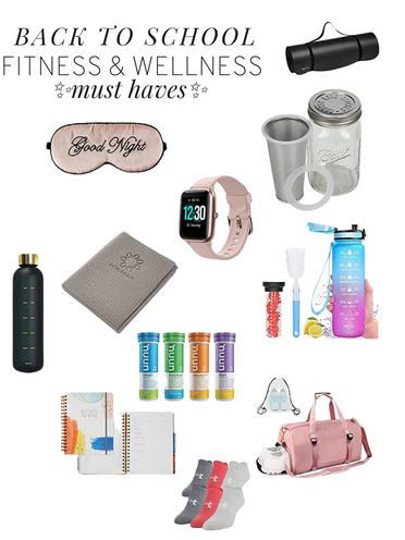 Staying Fit In College: Back To School Fitness Products To Bring