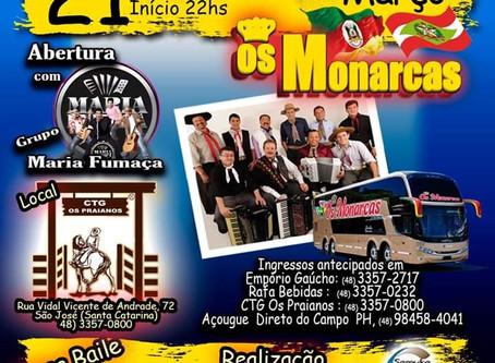 Baile dos Monarcas marca o lançamento do 48º Rodeio Nacional