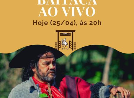 """Live do Baitaca: """"Do Fundo da Grota"""" para o mundo."""