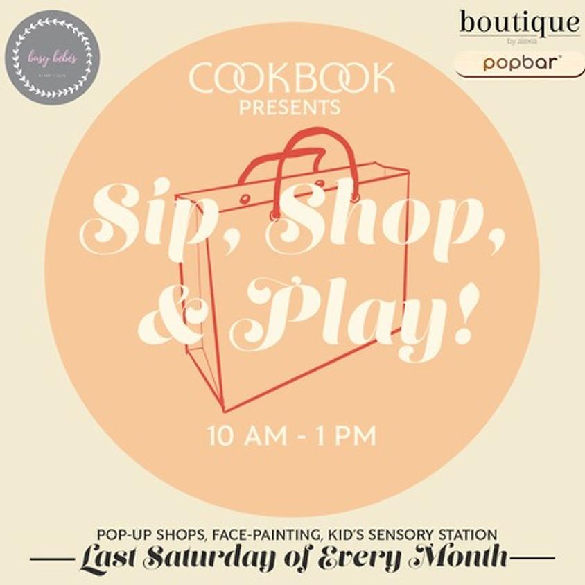 Sip, Shop, & Play!