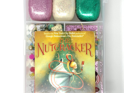the nutcracker ballet play dough kit