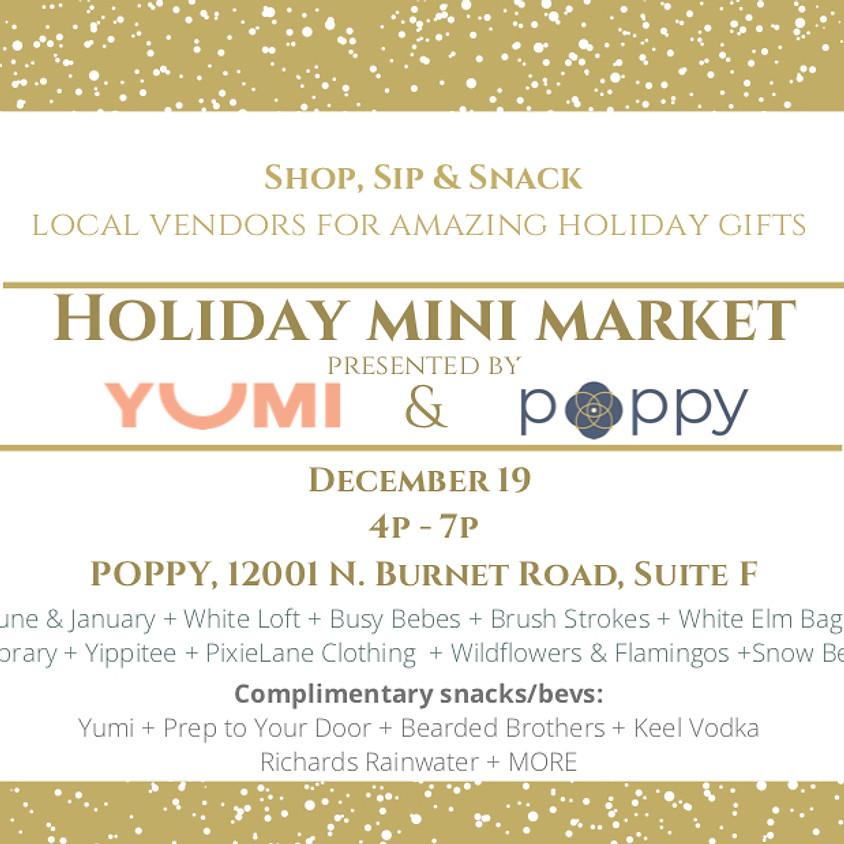 Holiday Mini Market by Yumi & Poppy
