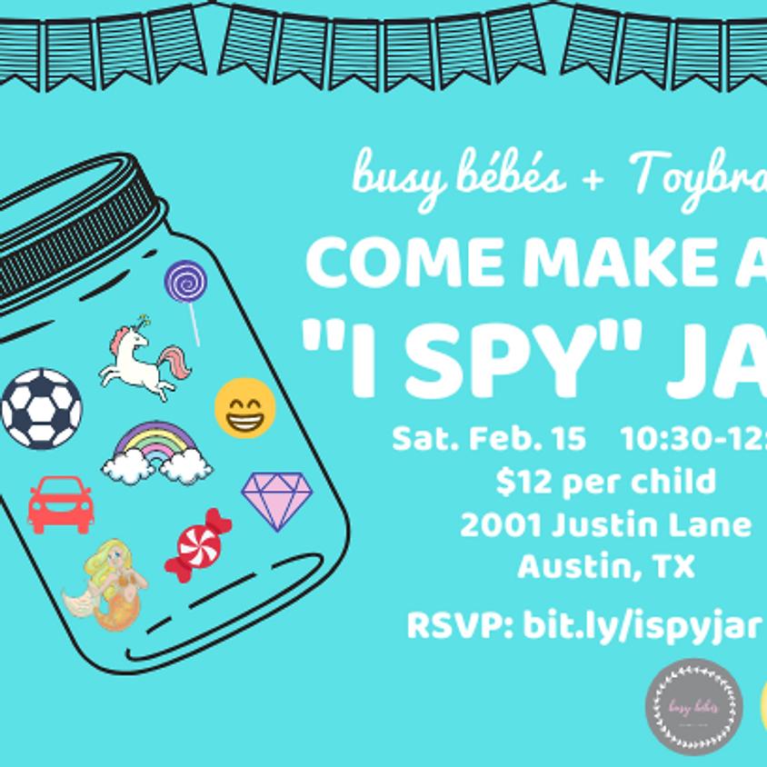 busy bébés & ToyBrary Present I Spy Workshop